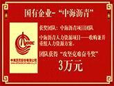 """【攻坚克难奋斗奖3万元】--""""中海沥青""""人力资源项目"""